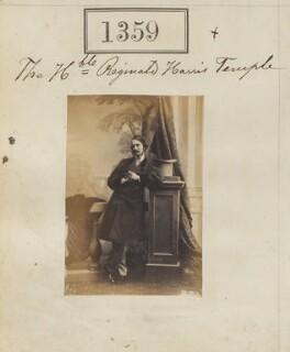 Hon. Reginald Harris Temple, by Camille Silvy - NPG Ax50760