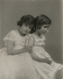 Two unknown girls, by Marcus Adams - NPG x76091