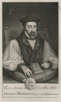 John Whitgift, by George Vertue - NPG D46201