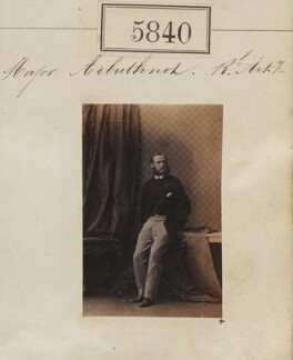 Sir Charles George Arbuthnot, by Camille Silvy - NPG Ax55794