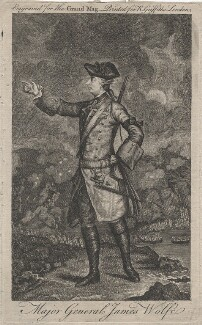 James Wolfe, published by Ralph Griffiths, probably after  J.S.C. Schaak - NPG D46209