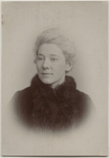 (Emma) Jane Catherine Cobden Unwin, by Fradelle & Young, 1890s - NPG  - © National Portrait Gallery, London