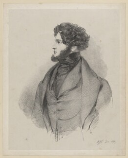 Alfred, Count D'Orsay, by Richard James Lane - NPG D46213