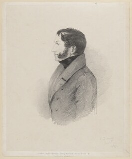 Count Andrezj Josef Matuszewicz, by Richard James Lane, published by  John Mitchell, after  Alfred, Count D'Orsay - NPG D46216