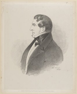 Joshua William Allen, 6th Viscount Allen, by Richard James Lane, published by  John Mitchell, after  Alfred, Count D'Orsay - NPG D46219
