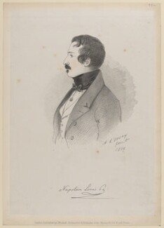 Napoléon III, Emperor of France, by Richard James Lane, published by  John Mitchell, after  Alfred, Count D'Orsay - NPG D46225