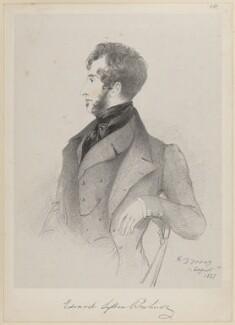 Edward George Earle Lytton Bulwer-Lytton, 1st Baron Lytton, by Richard James Lane, after  Alfred, Count D'Orsay - NPG D46228