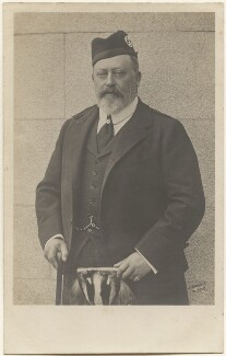 King Edward VII, by Thomas Bond Sims, for  James Russell & Sons - NPG x196490