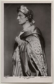 Sir Johnston Forbes-Robertson as Julius Caesar in 'Caesar and Cleopatra', by Lizzie Caswall Smith, published by  Rotary Photographic Co Ltd, 1907 - NPG  - © National Portrait Gallery, London