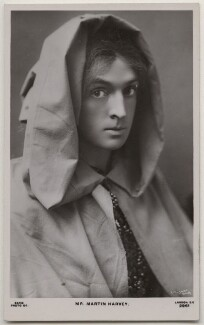 Sir John Martin-Harvey as Pelleas in 'Pelleas and Melisande', by Lizzie Caswall Smith, published by  Rapid Photo Co - NPG x196363