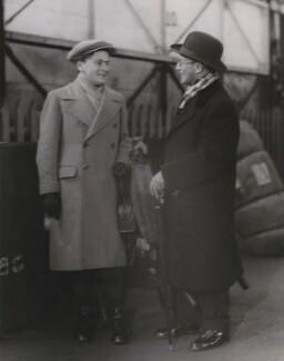 Yehudi Menuhin; Moshe Menuhin, by Bain News Service - NPG x199328