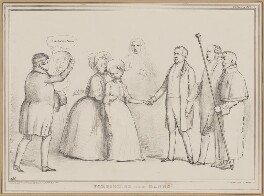 Forbidding the Banns, by John ('HB') Doyle, printed by  Alfred Ducôte, published by  Thomas McLean - NPG D46335