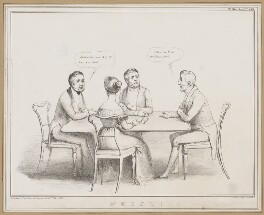 Whist!, by John ('HB') Doyle, printed by  Alfred Ducôte, published by  Thomas McLean - NPG D46347
