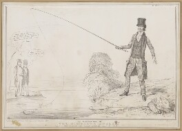 The Complete Angler, by John ('HB') Doyle, printed by  Alfred Ducôte, published by  Thomas McLean - NPG D46350