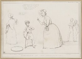 Symptoms of Insubordination, by John ('HB') Doyle, printed by  Alfred Ducôte, published by  Thomas McLean - NPG D46352