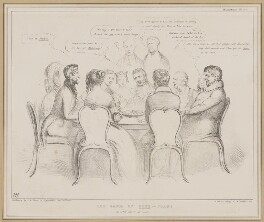 The Game of Pope Joan, by John ('HB') Doyle, printed by  Alfred Ducôte, published by  Thomas McLean - NPG D46355