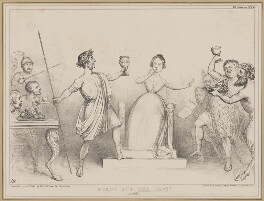 Comus and the Lady, by John ('HB') Doyle, printed by  Alfred Ducôte, published by  Thomas McLean - NPG D46357
