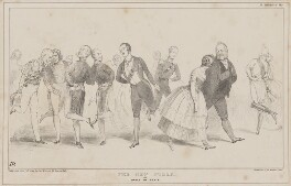 The New Polka, or dance of peace, by John ('HB') Doyle, printed by  General Lithographic Establishment, published by  Thomas McLean - NPG D46364
