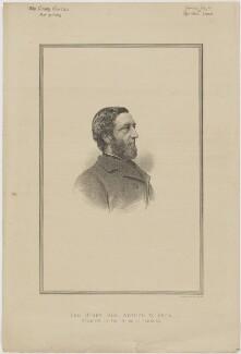 Arthur Wellesley Peel, 1st Viscount Peel, printed by Vincent Brooks, Day & Son - NPG D46147