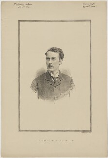 Hon. Alfred Lyttelton, printed by Vincent Brooks, Day & Son - NPG D46148