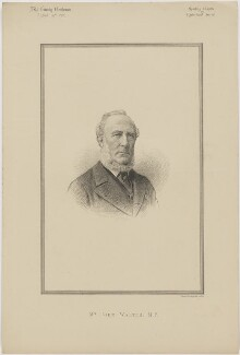 John Walter, printed by Vincent Brooks, Day & Son - NPG D46151