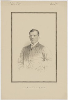 Sir Herbert Lloyd Watkin Williams-Wynn, 7th Bt, printed by Vincent Brooks, Day & Son - NPG D46159