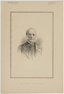 Sir Gabriel Goldney, 1st Bt, printed by Vincent Brooks, Day & Son - NPG D46170