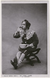 Sir Harry Lauder as Buttons in 'Cinderella', published by Rotary Photographic Co Ltd - NPG x198220
