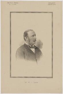 William John Legh, 1st Baron Newton, printed by Vincent Brooks, Day & Son - NPG D46177