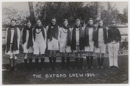 Oxford rowing crew, 1926, by Mrs Albert Broom (Christina Livingston) - NPG x198226