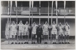 Cambridge rowing crew, 1926, by Mrs Albert Broom (Christina Livingston) - NPG x198227