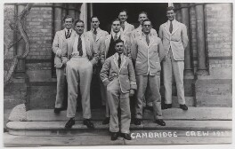 Cambridge rowing crew, 1927, by Mrs Albert Broom (Christina Livingston) - NPG x198228