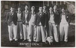 Oxford rowing crew, 1928, by Mrs Albert Broom (Christina Livingston) - NPG x198229