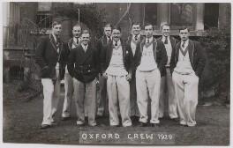 Oxford rowing crew, 1929, by Mrs Albert Broom (Christina Livingston) - NPG x198231
