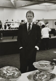 Sir Nicholas Andrew Serota, by Heather Waddell - NPG x199314