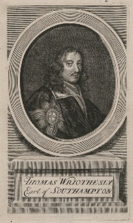Thomas Wriothesley, 4th Earl of Southampton, by Joseph Sympson (Simpson), after  Sir Peter Lely - NPG D46325