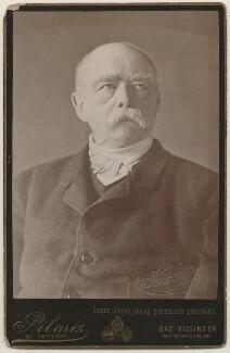 Prince Otto Edward Leopold von Bismarck-Schonhausen, by Jacob (Jacques) Pilartz - NPG x196306