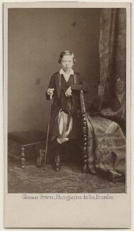Prince Leopold, Duke of Albany, by Ghémar Frères - NPG x196308