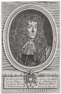 John Wilmot, 2nd Earl of Rochester, after Robert White, after  Sir Peter Lely - NPG D46329