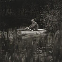 Ian Hamilton Finlay, by Robin Gillanders - NPG x199348