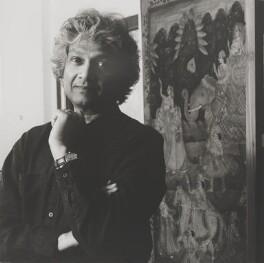 Romesh Gunesekera, by Lucinda Douglas-Menzies - NPG x199353
