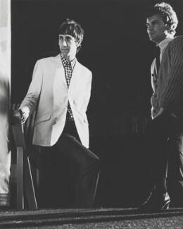 Peter Dennis Blandford ('Pete') Townshend; Christopher Sebastian ('Kit') Lambert, by Jim Barron - NPG x199358