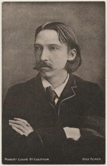 Robert Louis Stevenson, published by William J. Hay - NPG x196190