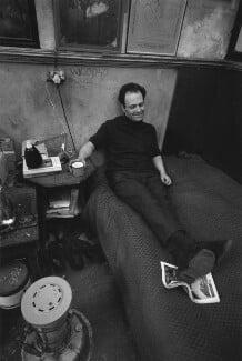 Frank Auerbach, by Bob Collins - NPG x199366