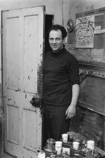 Frank Auerbach, by Bob Collins - NPG x199367
