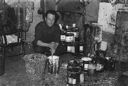 Frank Auerbach, by Bob Collins - NPG x199368