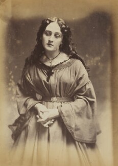 'A devotee' (Unknown woman), by Oscar Gustav Rejlander - NPG P2011(4)