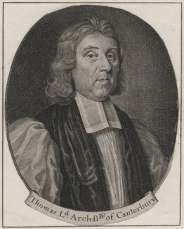 Thomas Tenison, after Robert White - NPG D46399