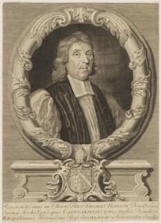 Thomas Tenison, by Robert White - NPG D46400