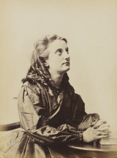 'Prayer' (Unknown young woman), by Oscar Gustav Rejlander - NPG P2011(7)